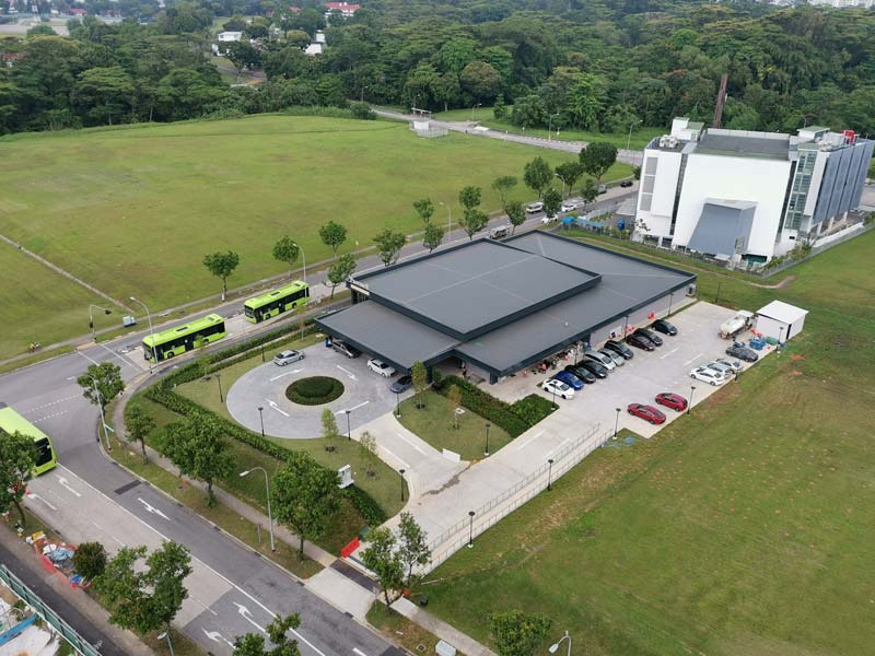 Provence Residence EC Showflat Aerial View
